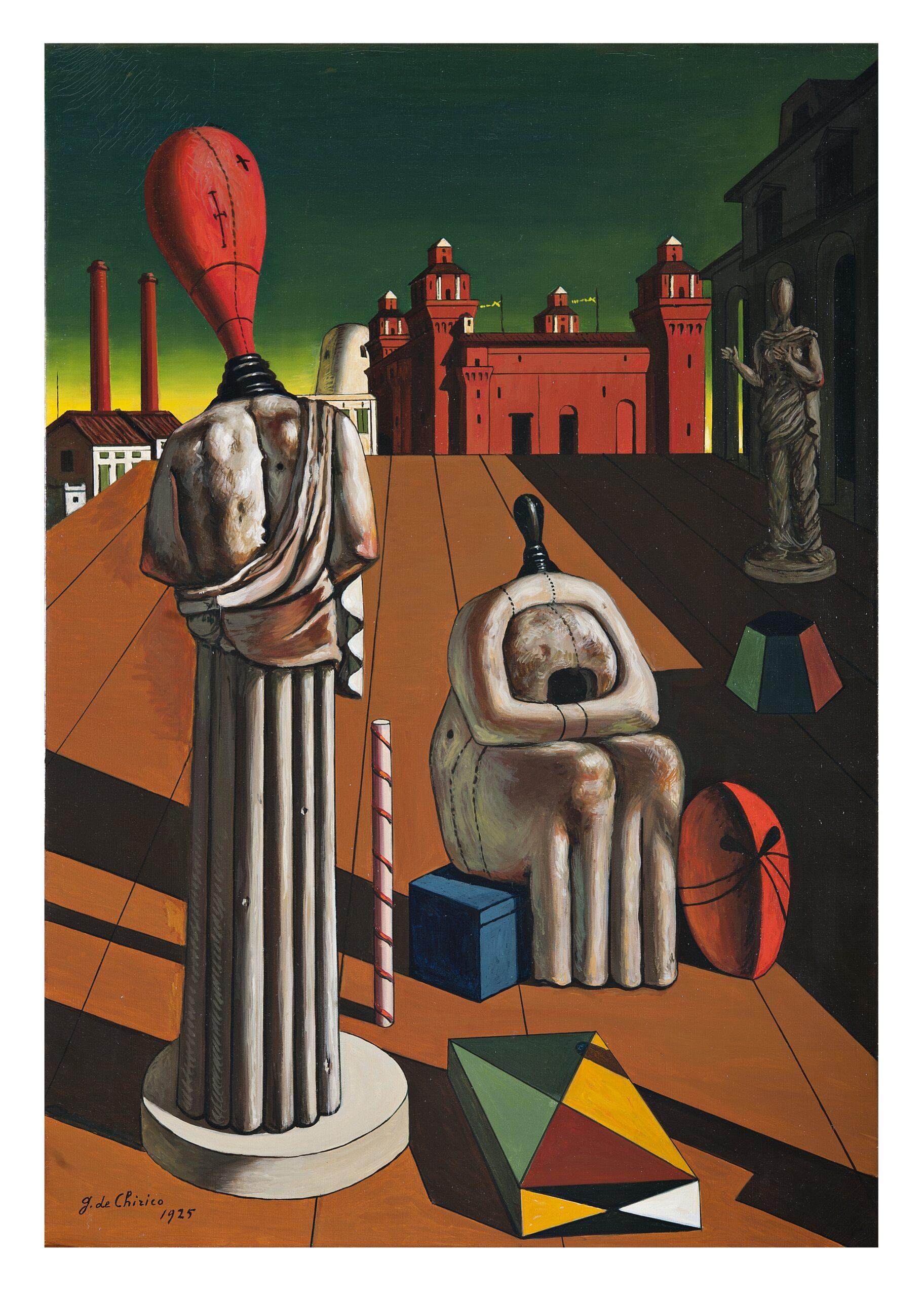 Giorgio de Chirico Le muse inquietanti, 1925