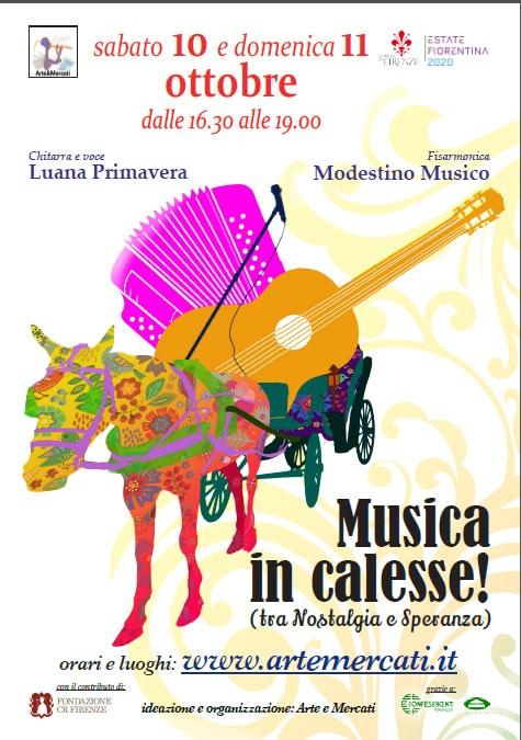 Musica in calesse - Mercati in Musica XII edizione