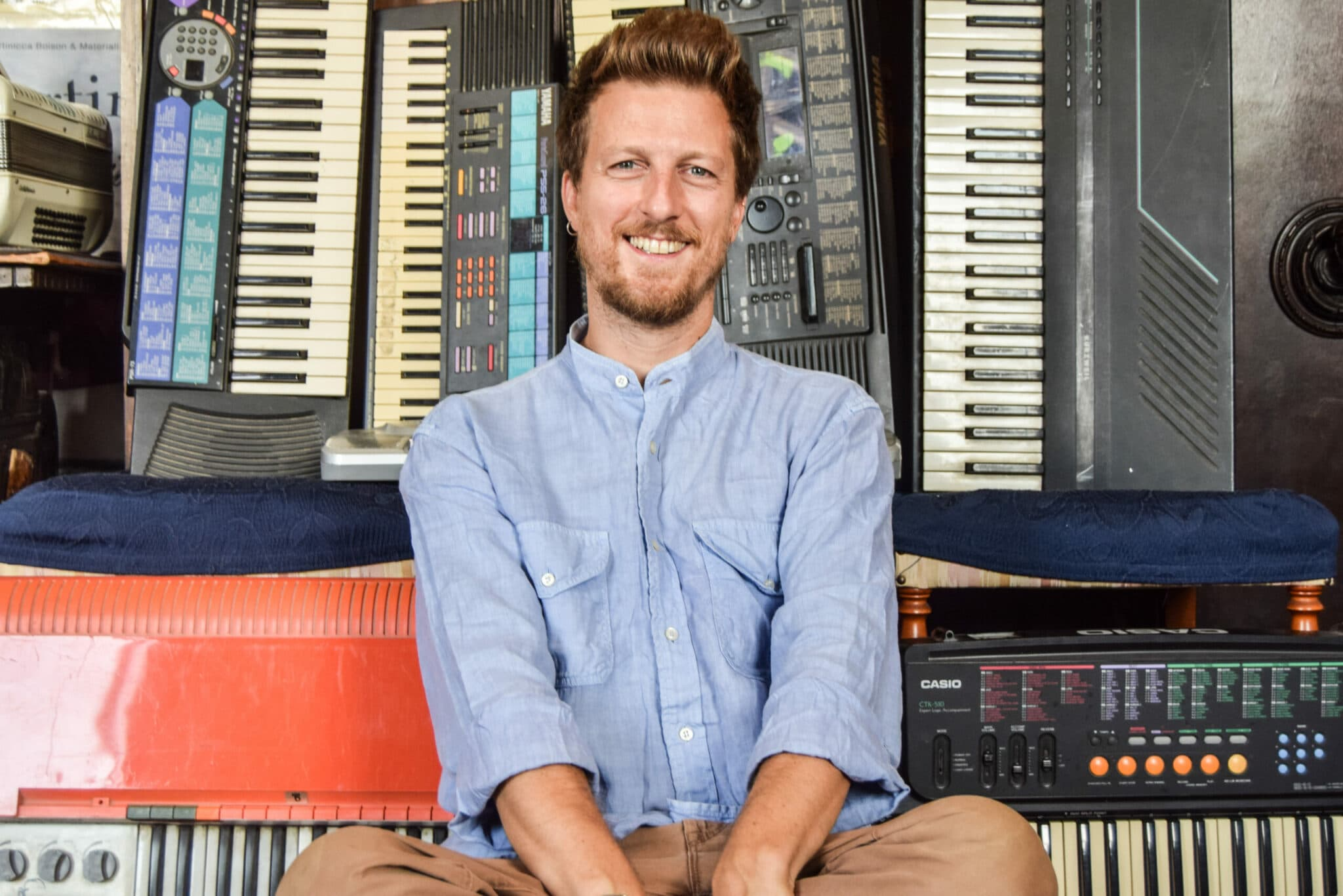 Lorenzo Ugolini, tastiere e piano