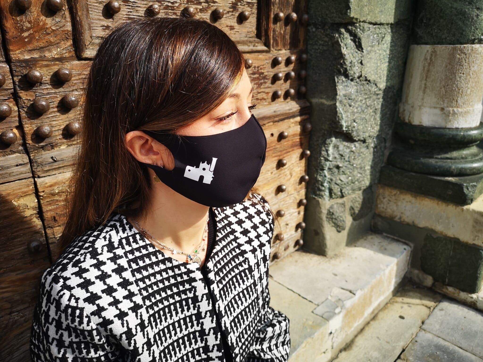 Mascherina personalizzata con il simbolo di Prato