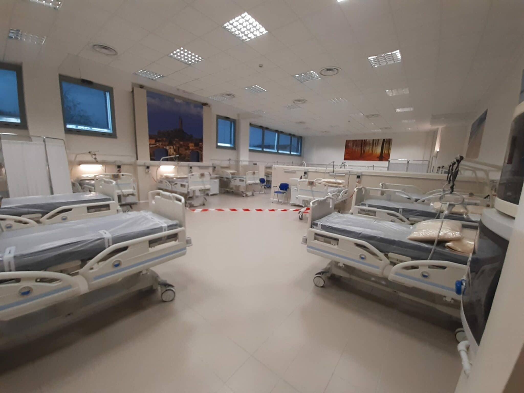 Il nuovo Centro Covid Pegaso di Prato