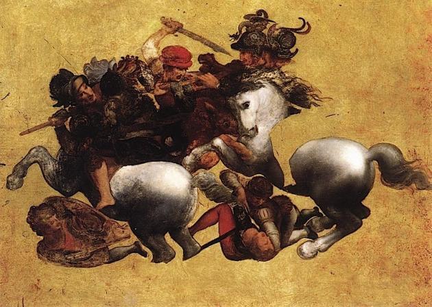 Tavola Doria, Uffizi