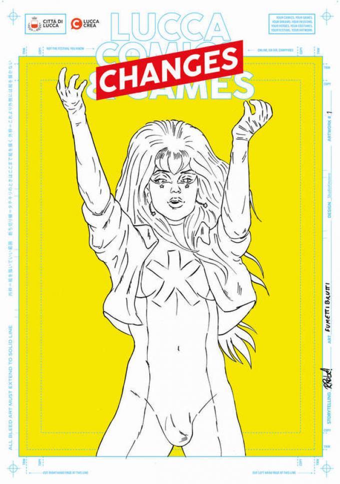 Dreamers, Lucca Changes, Fumettibrutti