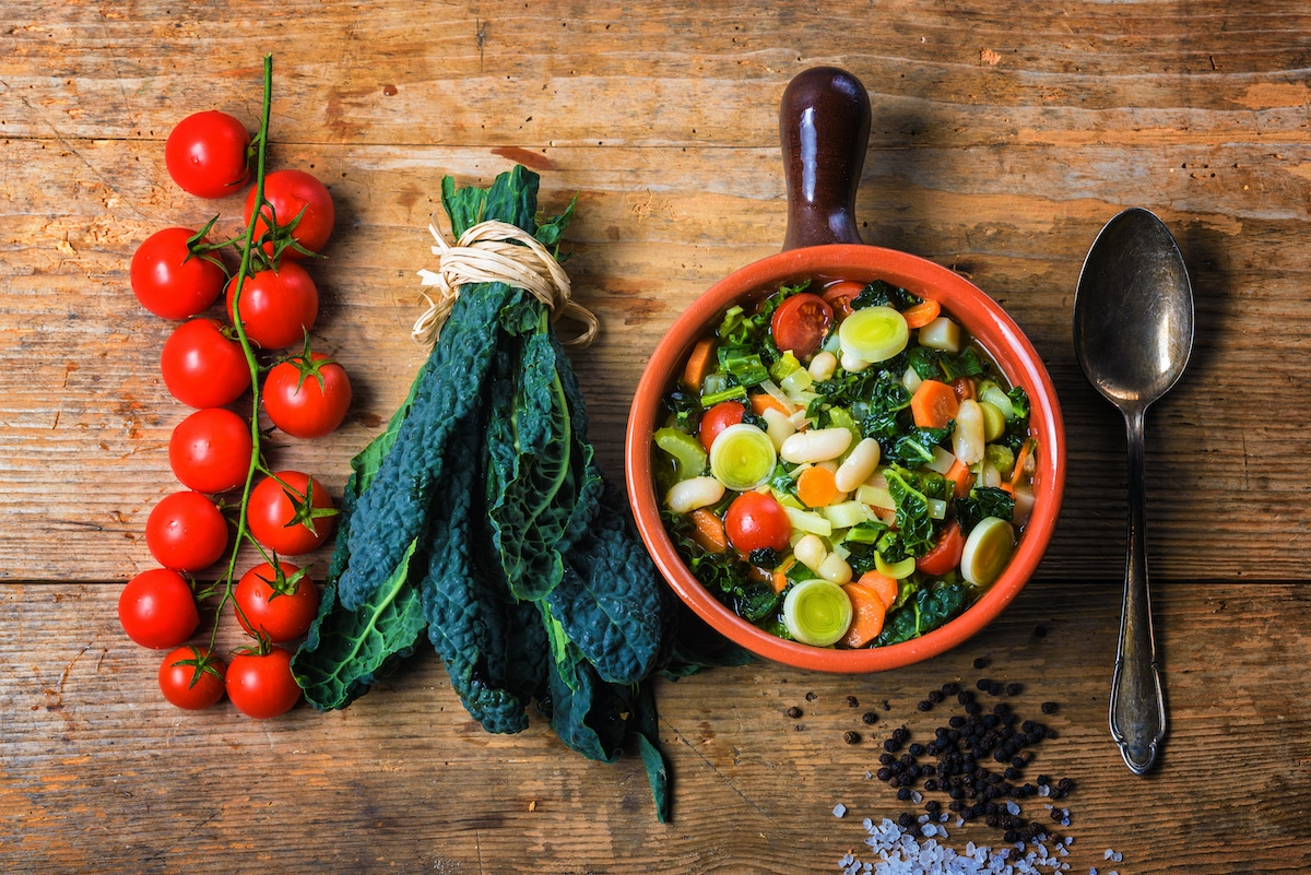 La ribollita, ricetta tipica toscana