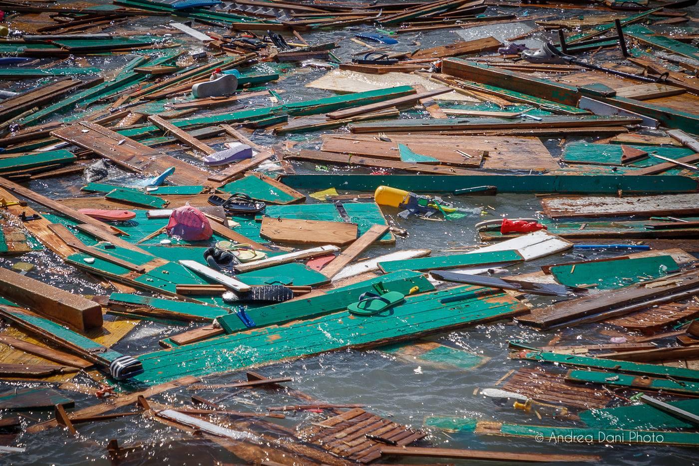 Danni della tempesta ai Pancaldi Acquaviva di Livorno