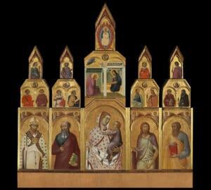 Il polittico di Arezzo di Pietro Lorenzetti